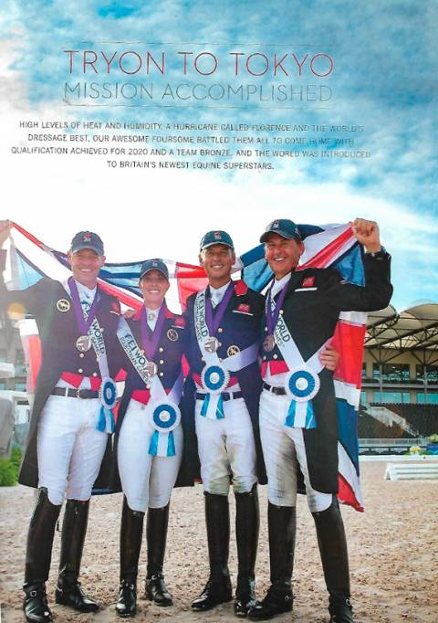 British Dressage issue 7 2018 Tryon to Tokyo